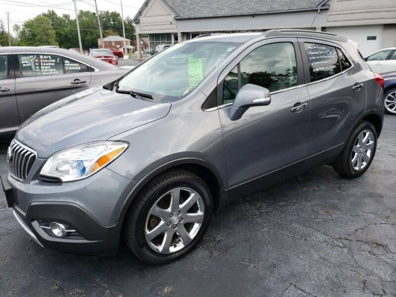 2014 Buick Encore for sale at STRUTHER'S AUTO MALL in Austintown OH