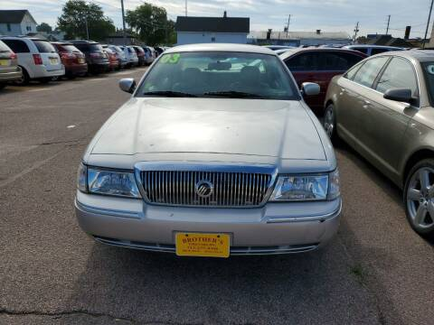 2003 Mercury Grand Marquis for sale at Brothers Used Cars Inc in Sioux City IA