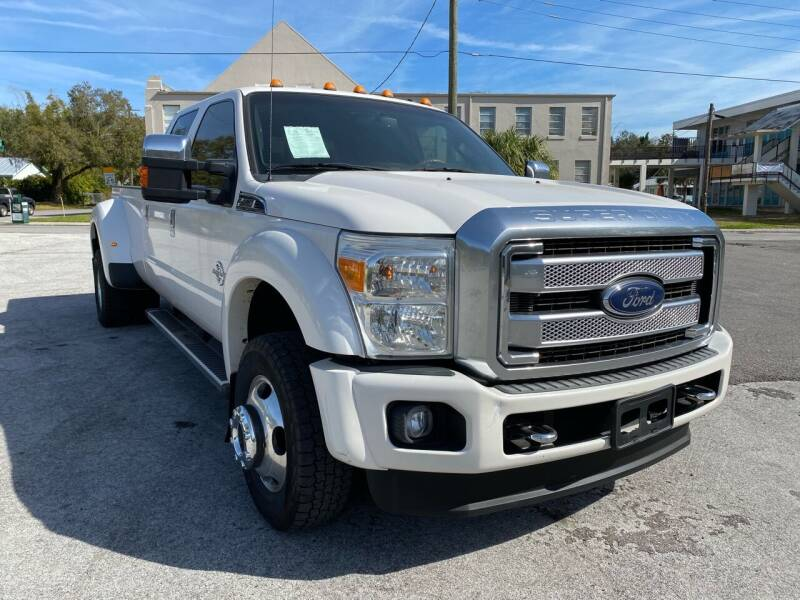 2013 Ford F-450 Super Duty for sale at LUXURY AUTO MALL in Tampa FL