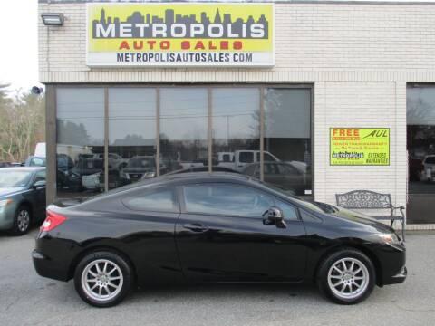 2013 Honda Civic for sale at Metropolis Auto Sales in Pelham NH