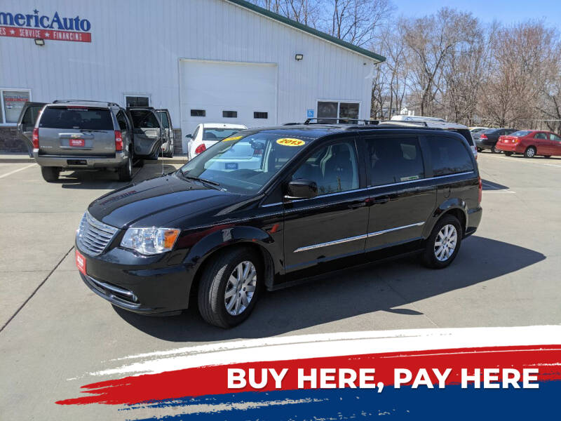 2013 Chrysler Town and Country for sale at AmericAuto in Des Moines IA