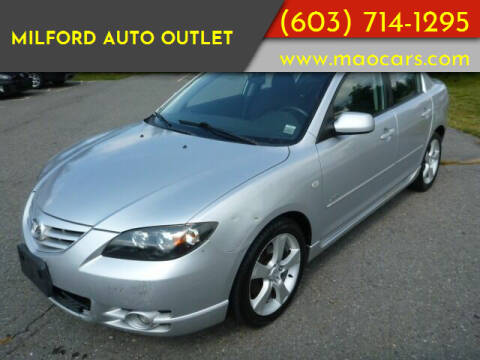 2005 Mazda MAZDA3 for sale at Milford Auto Outlet in Milford NH