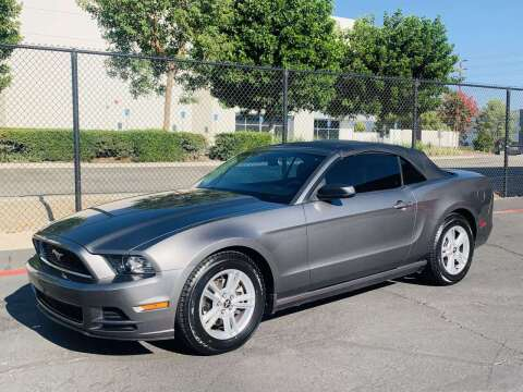 2013 Ford Mustang for sale at CARLIFORNIA AUTO WHOLESALE in San Bernardino CA