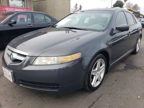 2004 Acura TL for sale at MCHENRY AUTO SALES in Modesto CA