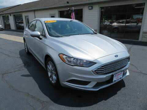 2017 Ford Fusion for sale at Tri-County Pre-Owned Superstore in Reynoldsburg OH