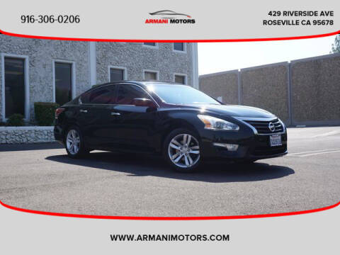 2015 Nissan Altima for sale at Armani Motors in Roseville CA