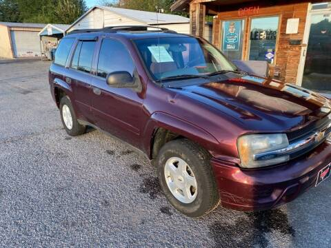 2006 Chevrolet TrailBlazer for sale at LEE AUTO SALES in McAlester OK