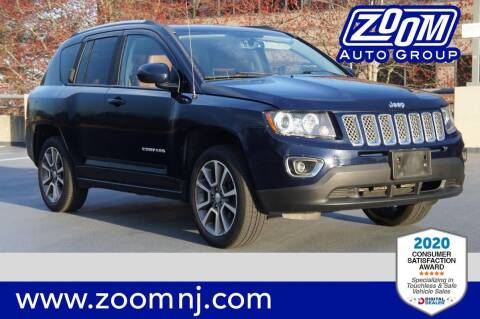 2014 Jeep Compass for sale at Zoom Auto Group in Parsippany NJ