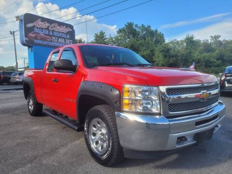 2013 Chevrolet Silverado 1500 for sale at Auto Outlet Sales and Rentals in Norfolk VA