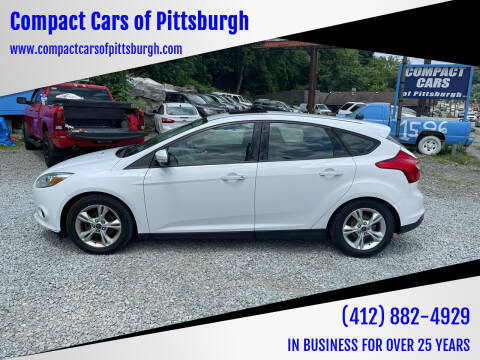 2014 Ford Focus for sale at Compact Cars of Pittsburgh in Pittsburgh PA