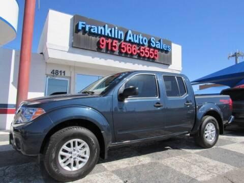 2019 Nissan Frontier for sale at Franklin Auto Sales in El Paso TX