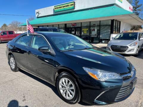 2017 Toyota Camry for sale at Action Auto Specialist in Norfolk VA