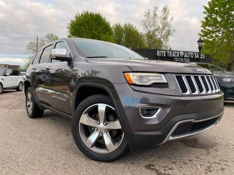 2015 Jeep Grand Cherokee for sale at Rite Track Auto Sales in Canton MI