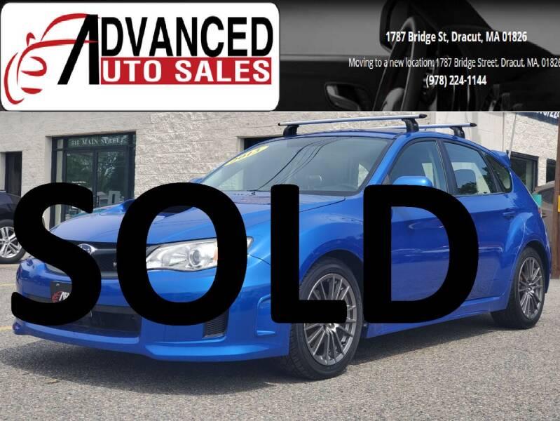 2013 Subaru Impreza for sale at Advanced Auto Sales in Dracut MA