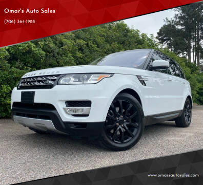 2016 Land Rover Range Rover Sport for sale at Omar's Auto Sales in Martinez GA
