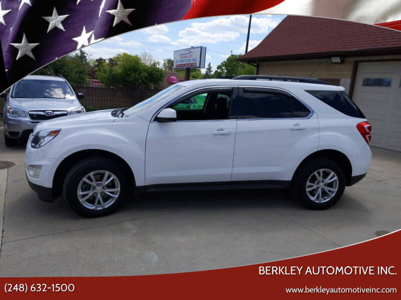 2017 Chevrolet Equinox for sale at Berkley Automotive Inc. in Berkley MI
