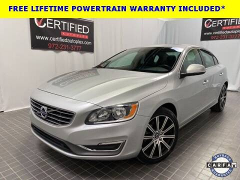 2017 Volvo S60 for sale at CERTIFIED AUTOPLEX INC in Dallas TX