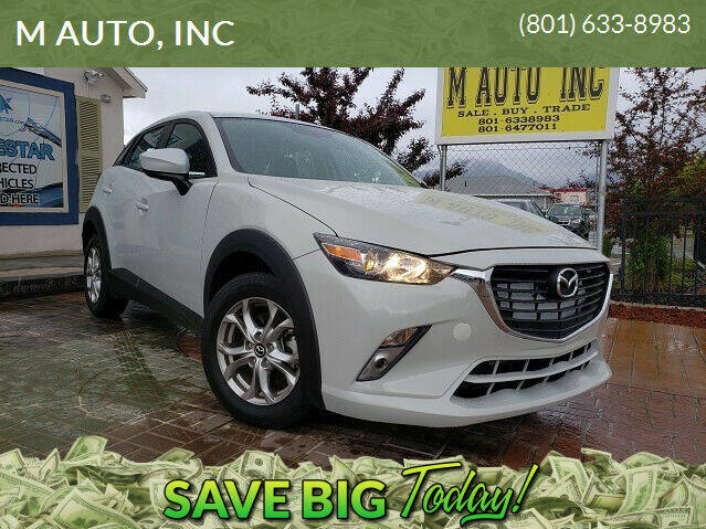 2016 Mazda CX-3 for sale at M AUTO, INC in Millcreek UT