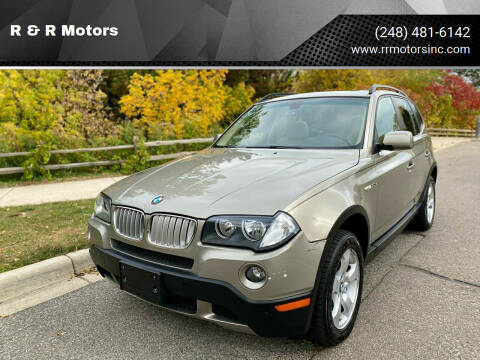 2008 BMW X3 for sale at R & R Motors in Waterford MI