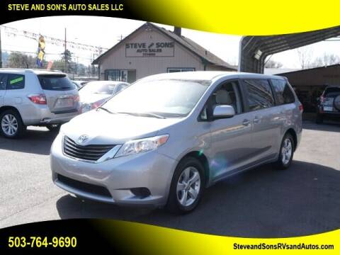 2012 Toyota Sienna for sale at Steve & Sons Auto Sales in Happy Valley OR