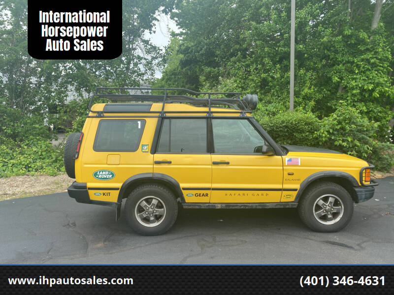 2002 Land Rover Discovery Series II for sale at International Horsepower Auto Sales in Warwick RI