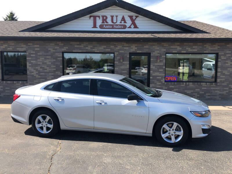 2019 Chevrolet Malibu for sale at Truax Auto Sales Inc. in Deer Creek MN