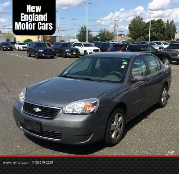 2008 Chevrolet Malibu Classic for sale at New England Motor Cars in Springfield MA