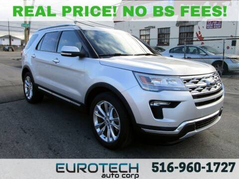 2018 Ford Explorer for sale at EUROTECH AUTO CORP in Island Park NY