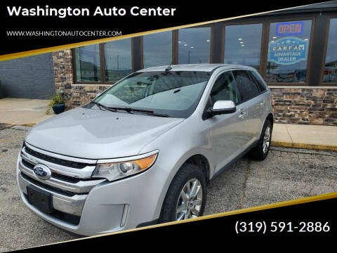 2013 Ford Edge for sale at Washington Auto Center in Washington IA