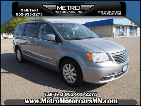2013 Chrysler Town and Country for sale at Metro Motorcars Inc in Hopkins MN