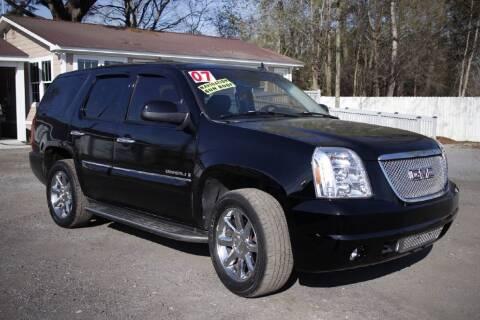 2007 GMC Yukon for sale at Harry's Auto Sales, LLC in Goose Creek SC