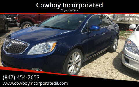 2014 Buick Verano for sale at Cowboy Incorporated in Waukegan IL
