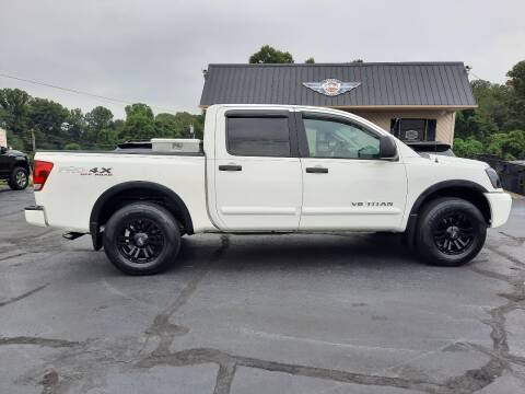 2008 Nissan Titan for sale at G AND J MOTORS in Elkin NC