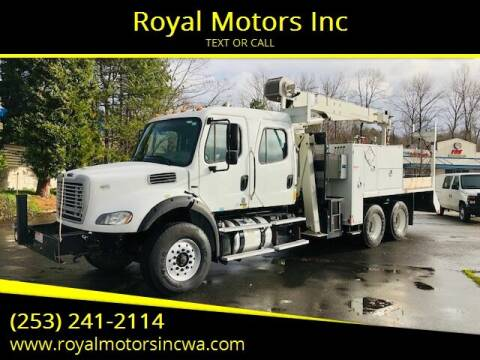 2012 Freightliner M2 Crew Cab for sale at Royal Motors Inc in Kent WA