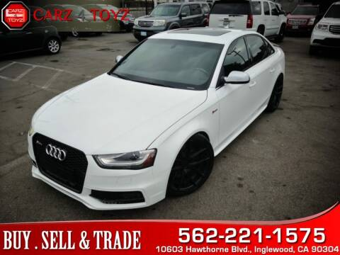 2014 Audi S4 for sale at Carz 4 Toyz in Inglewood CA