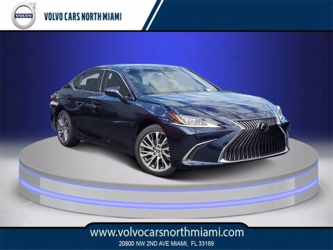 2019 Lexus ES 350 for sale at Volvo Cars North Miami in Miami FL