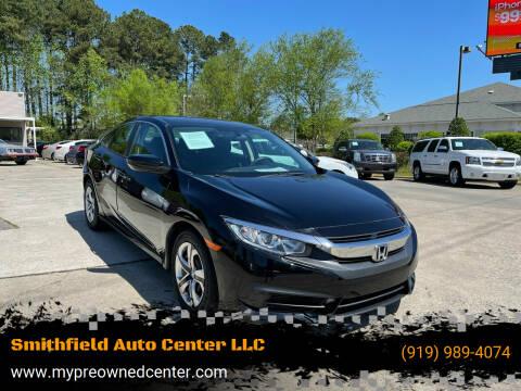 2017 Honda Civic for sale at Smithfield Auto Center LLC in Smithfield NC