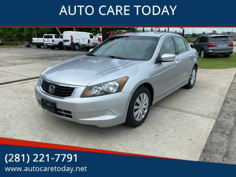 2010 Honda Accord for sale at AUTO CARE TODAY in Spring TX