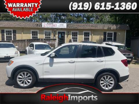 2013 BMW X3 for sale at Raleigh Imports in Raleigh NC