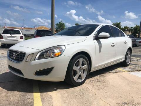 2012 Volvo S60 for sale at Trans Copacabana Auto Sales in Hollywood FL