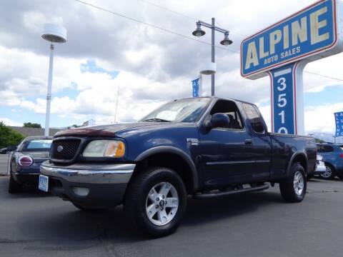 2002 Ford F-150 for sale at Alpine Auto Sales in Salt Lake City UT