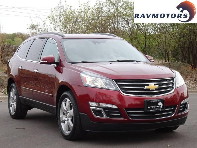 2017 Chevrolet Traverse for sale at RAVMOTORS in Burnsville MN