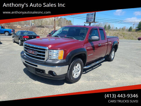 2012 GMC Sierra 1500 for sale at Anthony's Auto Sales Inc in Pittsfield MA