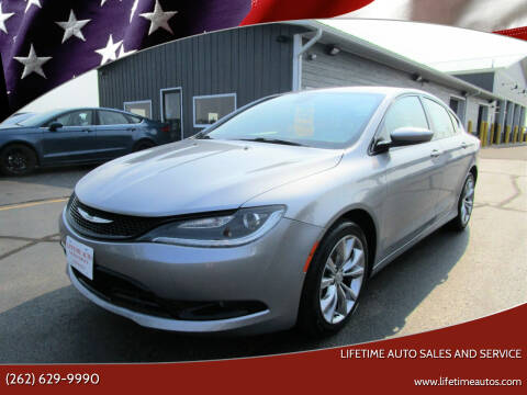 2015 Chrysler 200 for sale at Lifetime Auto Sales and Service in West Bend WI