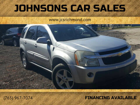 2006 Chevrolet Equinox for sale at Johnsons Car Sales in Richmond IN