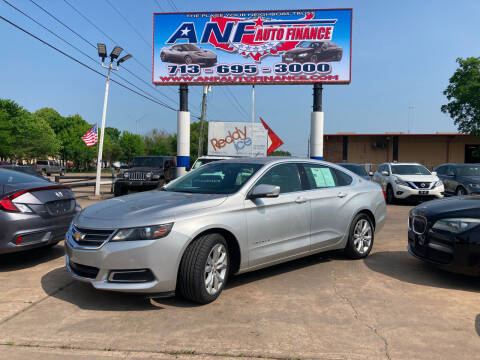 2017 Chevrolet Impala for sale at ANF AUTO FINANCE in Houston TX
