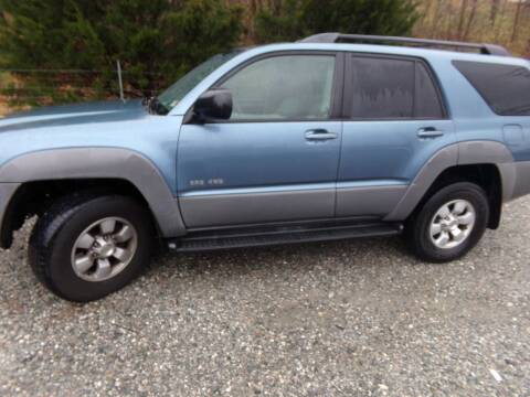 2003 Toyota 4Runner for sale at West End Auto Sales LLC in Richmond VA