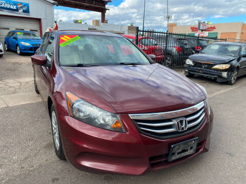 2011 Honda Accord for sale at Sanaa Auto Sales LLC in Denver CO