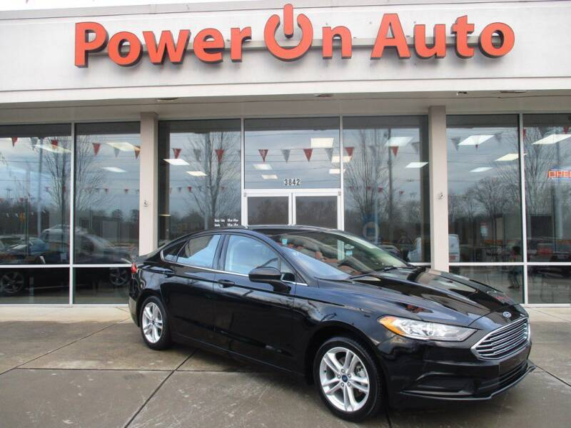 2018 Ford Fusion for sale at Power On Auto LLC in Monroe NC