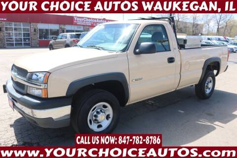 2003 Chevrolet Silverado 2500 for sale at Your Choice Autos - Waukegan in Waukegan IL